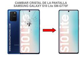 Cambiar / Reparar Cristal de la pantalla Samsung Galaxy S10 LITE SM-G770F