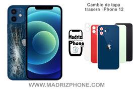 Cambiar Cristal / Reparar Tapa Trasera Apple iPhone 12