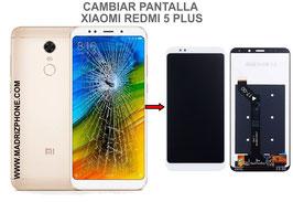 Cambiar / Reparar pantalla completa Xiaomi Redmi 5 Plus