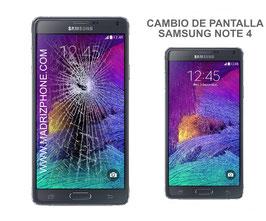 Cambiar / Reparar pantalla completa Samsung Galaxy NOTE 4 SM-N910F ORIGINAL