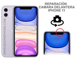 Cambiar / Reparar Camara Delantera Selfie iPHONE 11  (ORIGINAL)