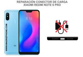 Cambiar / Reparar Conector de Carga Xiaomi Redmi Note 6 Pro