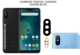 Cambiar / Sustituir Cristal camara trasera Xiaomi Mi A2 Lite