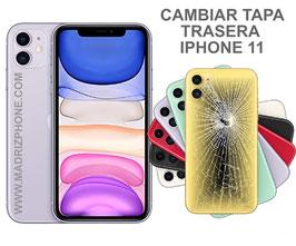Cambiar Cristal / Reparar Tapa Trasera Apple iPHONE 11