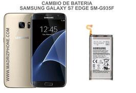 Cambiar / Reemplazo Bateria Samsung Galaxy S7 Edge SM-G935F