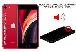 Cambiar / Reparar Altavoz auricular de llamadas APPLE iPHONE SE 2020