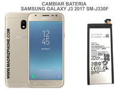 Cambiar / Reparar Bateria SAMSUNG GALAXY J3 2017 SM-J330F