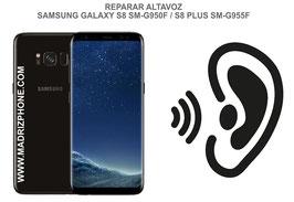 Cambiar / Reparar Altavoz Auricular Samsung Galaxy S8 G950f / S8 Plus G955f