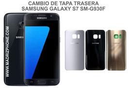 Cambiar / Reparar Tapa Trasera Samsung Galaxy S7  SM-G930F