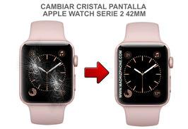 Cambiar / Reparar Cristal de pantalla APPLE WATCH Serie 2 42MM ( A1758 / A1817 )