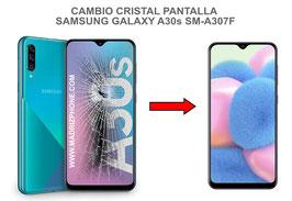 Cambiar / Reparar Cristal de la pantalla Samsung Galaxy A30s SM-A307F