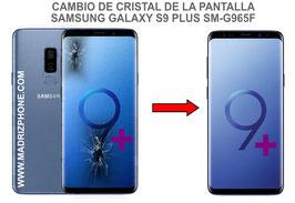 Cambiar / Reparar Cristal  de la Pantalla Samsung Galaxy S9 Plus SM-G965F