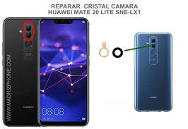 Cambiar / Reparar Cristal camara trasera Huawei Mate 20 Lite RNE-LX1