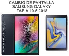 Cambiar / Reparar pantalla completa ( LCD + TACTIL ) Samsung Galaxy TAB A 10.5 2018 SM-T590 , SM-T595