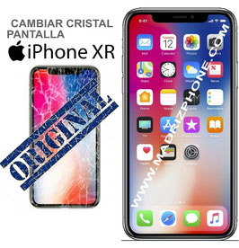 Cambiar / Reparar Cristal de la Pantalla Apple iPHONE XR