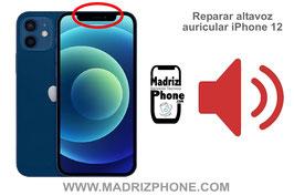 Cambiar / Reparar Altavoz auricular de llamadas APPLE iPhone 12 Pro