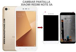 Cambiar / Reparar pantalla completa Xiaomi Redmi Note 5A