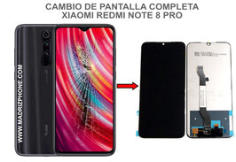 Cambiar / Reparar pantalla completa Xiaomi Redmi Note 8 Pro ( M1906G7G )