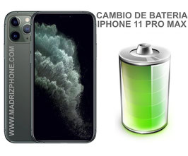 Cambiar / Reemplazo Bateria Apple  iPHONE 11 PRO MAX