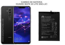 Cambiar / Reparar Bateria Huawei Mate 20 Lite SNE-LX1