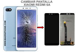 Cambiar / Reparar pantalla completa Xiaomi Redmi 6A