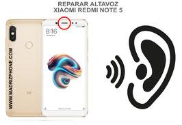 Cambiar / Reparar Altavoz Auricular Xiaomi Redmi Note 5