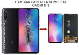 Cambiar / Reparar pantalla completa Xiaomi Mi9 (MI 9) M1902F1A