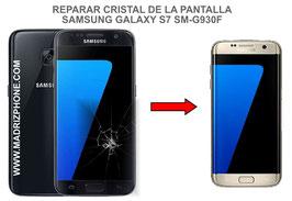 Cambiar / Reparar Cristal de Pantalla Samsung Galaxy S7 SM-G930F