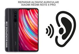 Cambiar / Reparar Altavoz Auricular Xiaomi Redmi Note 8 Pro ( M1906G7G )