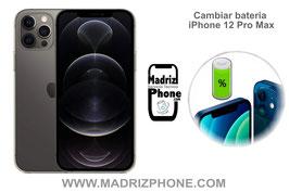 Cambiar / Sustituir Batería Apple  iPhone 12 Pro Max Calidad Premium