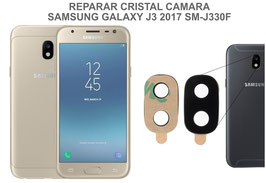 Cambiar / Reparar Cristal camara trasera SAMSUNG GALAXY J3 2017 SM-J330F