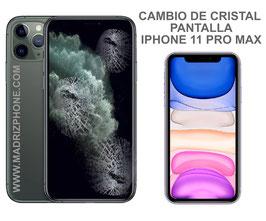Cambiar / Reparar Cristal de la Pantalla Apple iPHONE 11 PRO MAX