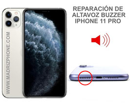 Reparar / Cambiar altavoz buzzer Apple iPHONE 11 PRO