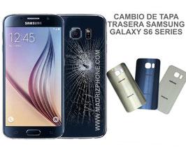 Cambiar / Reparar Tapa Trasera Samsung Galaxy S6 SM-G920F , S6 EDGE SM-G925F , S6 EDGE PLUS SM-G928F