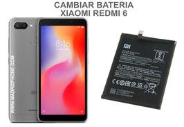 Cambiar / Sustituir Bateria Xiaomi Redmi 6