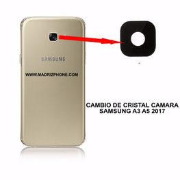 Cambiar / Sustituir Cristal de la Camara SAMSUNG GALAXY A5 A520F 2017