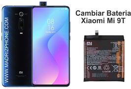 Cambiar / Sustitución de Batería Xiaomi Mi9T ( MI 9T) M1903F10G