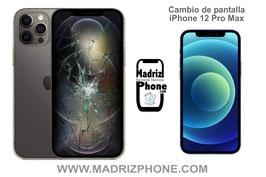 Cambiar / Reparar Pantalla Completa Apple iPhone 12 Pro Max CALIDAD PREMIUM