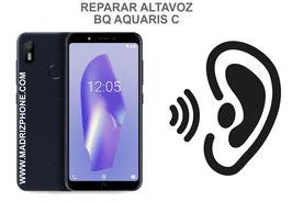 Cambiar / Reparar Altavoz Auricular BQ AQUARIS C