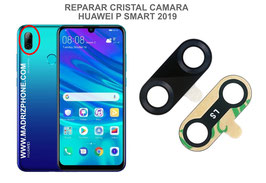 Cambiar / Reparar Cristal camara trasera HUAWEI P SMART 2019 POT-LX1 / POT-LX3