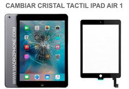 Cambiar / Reparar Cristal Tactil Apple Ipad Air 1 ( A1474 , A1475 , A1476 )
