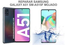 Reparación / Recuperación  Samsung Galaxy A51 SM-A515F Mojado
