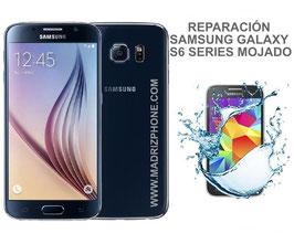 Reparación / Recuperación Samsung Galaxy S6 SM-G920F , S6 EDGE SM-G925F , S6 EDGE PLUS SM-G928F MOJADO