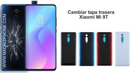 Cambiar / Reparar Cristal Tapa Trasera Xiaomi Mi9T ( MI 9T) M1903F10G