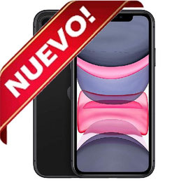 APPLE IPHONE 11 64GB NEGRO LIBRE NUEVO PRECINTADO
