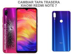 Cambiar Cristal / Reparar Tapa Trasera Xiaomi Redmi Note 7 ( M1901F7G )