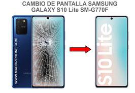 Cambiar / Reparar pantalla completa Samsung Galaxy S10 LITE SM-G770F