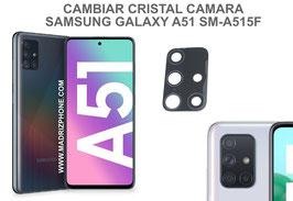 Cambiar / Reparar Cristal camara trasera Samsung Galaxy A51 SM-A515F