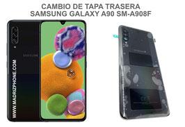 Cambiar / Reparar Tapa Trasera Samsung Galaxy A90 5G SM-A908F