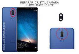 Cambiar / Reparar Cristal Camara trasera HUAWEI MATE 10 LITE